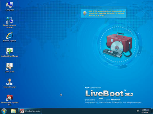 official shop factory outlet new release Wondershare LiveBoot 2011 - IT World News - reboot.pro